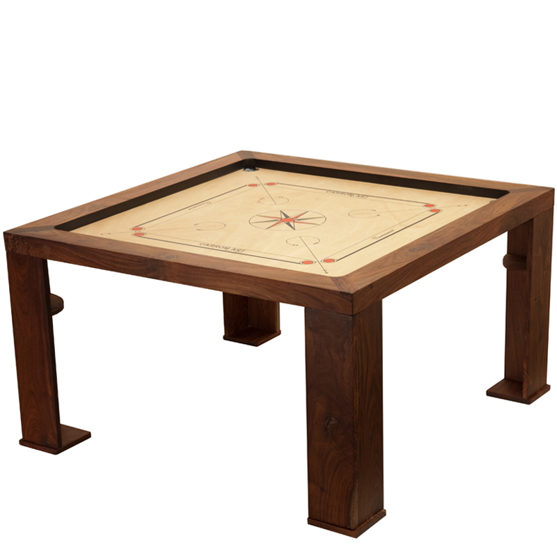 table basse carrom champion sur carrom online le sp cialiste du carrom billard indien et jeux. Black Bedroom Furniture Sets. Home Design Ideas