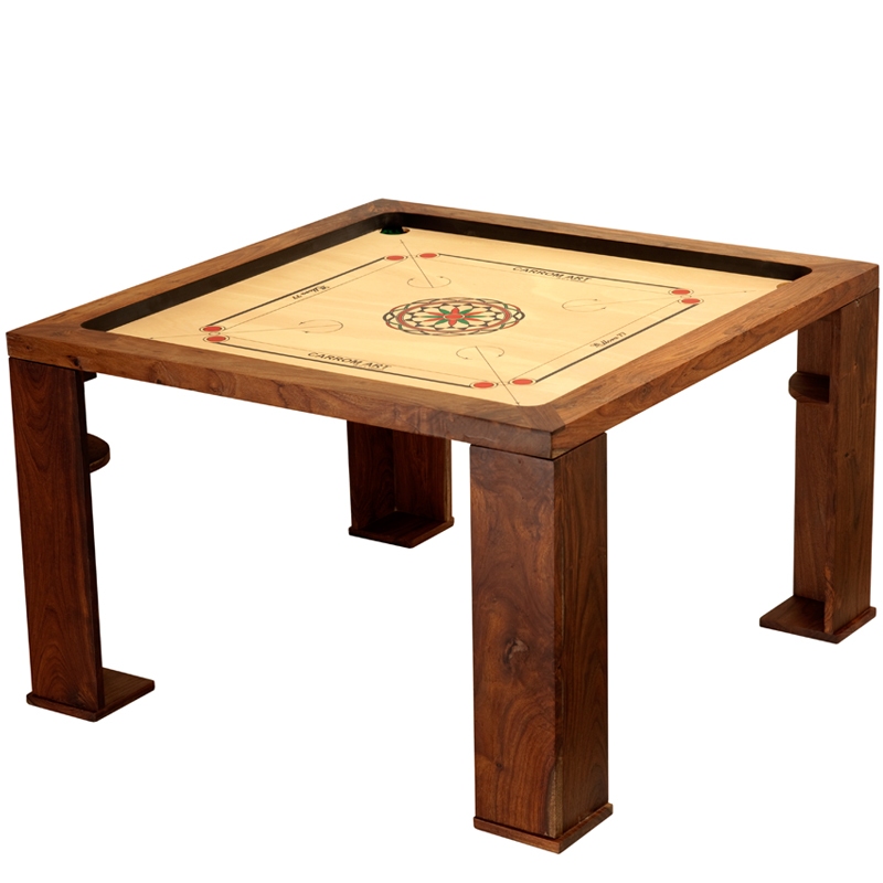 table basse carrom ellora 70 cm sur carrom online le sp cialiste du carrom billard indien et. Black Bedroom Furniture Sets. Home Design Ideas